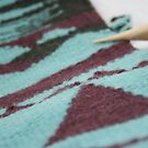 Tapestry close-up by gingerknits