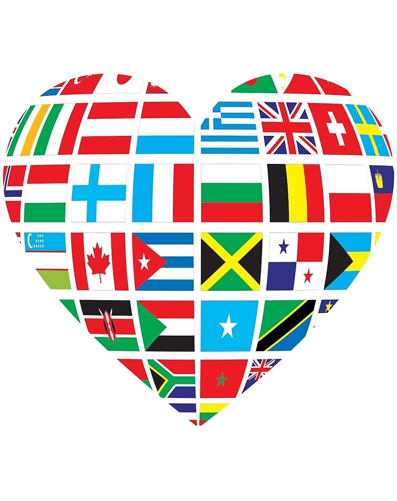 World Heart- One World One Human Race by ChaosEmporium