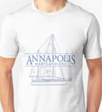 Annapolis Maryland Unisex T-Shirt