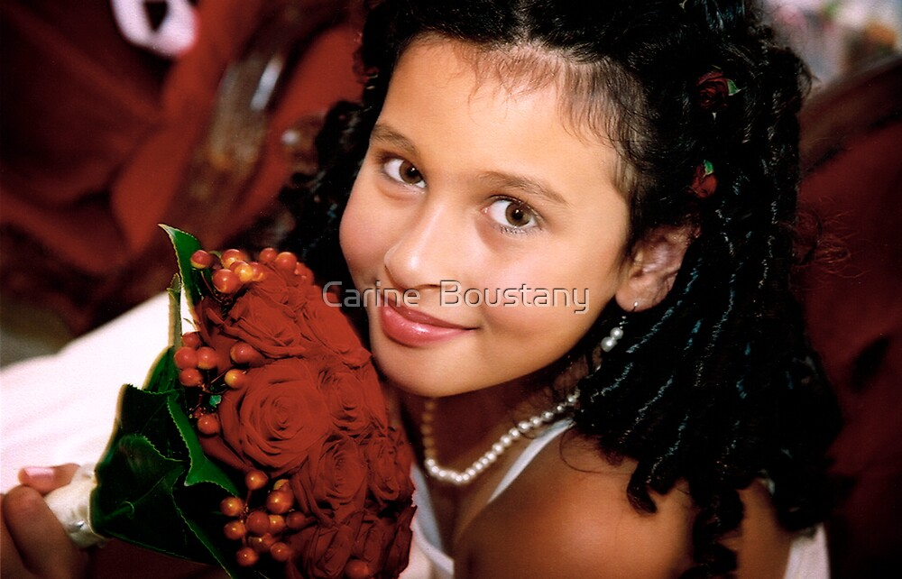 flower Girl 2 by Carine  Boustany