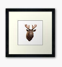 Horns of hands Framed Print