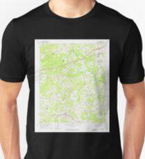 USGS TOPO Map Georgia GA Auburn 244946 1964 24000 Unisex T-Shirt