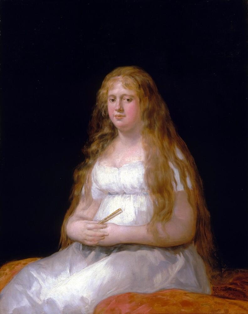 Goya Josefa de Castilla Portugal y van Asbrock de Garcini by pdgraphics