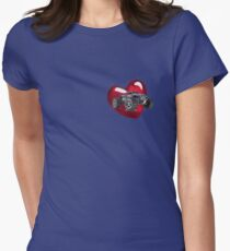 love 4x4 for a friend Womens Fitted T-Shirt