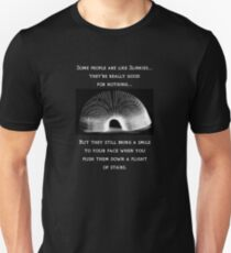 People are like slinkies... Unisex T-Shirt
