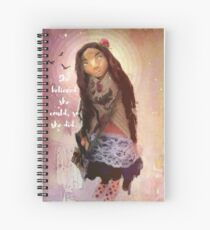 """Wisdom Keeper Series 1: She Believed She Could"" Spiral Notebook"