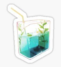 sea sips. Sticker