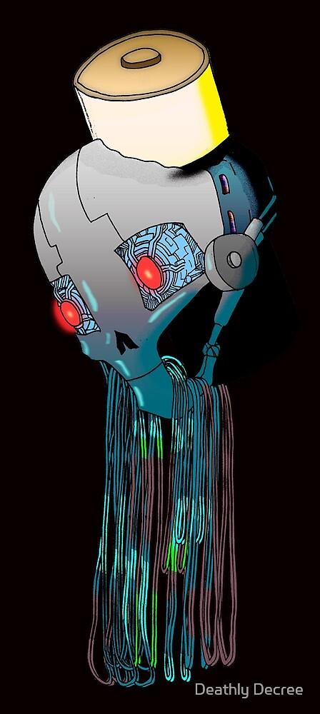 Robotic skull by Deathly Decree
