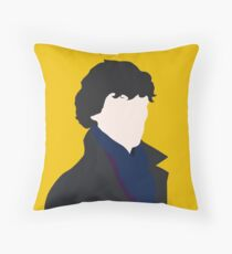 Sherlock Holmes Minimalist Throw Pillow