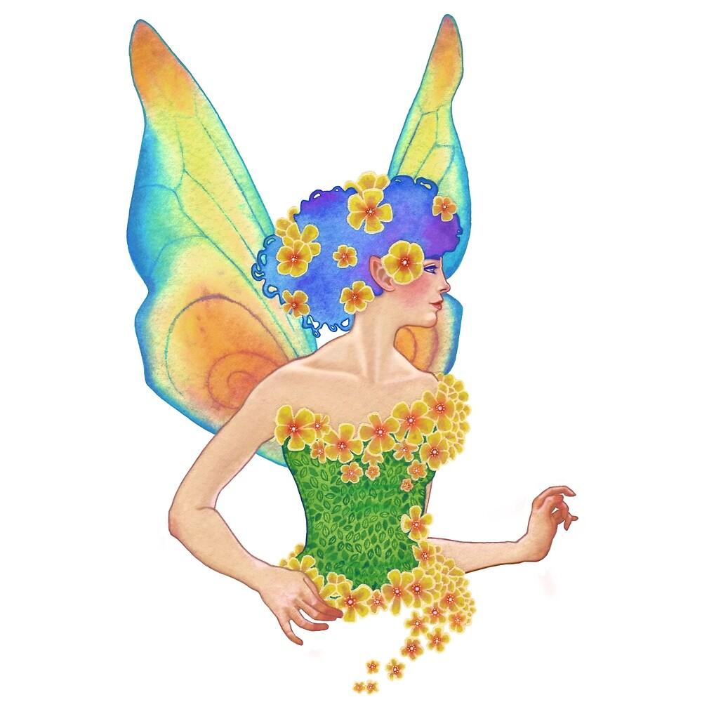 Summer Solstice Fairy by MiryamsArtWork