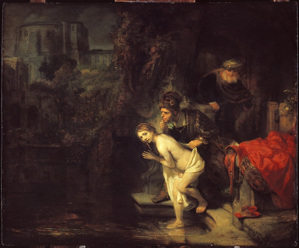 Rembrandt Susanna and the Elders by pdgraphics