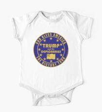 Trump And The Deplorables Victory Tour One Piece - Short Sleeve