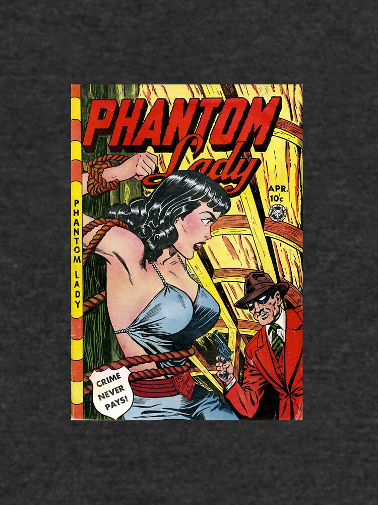 Vintage Phantom Lady Comic Book by pdgraphics