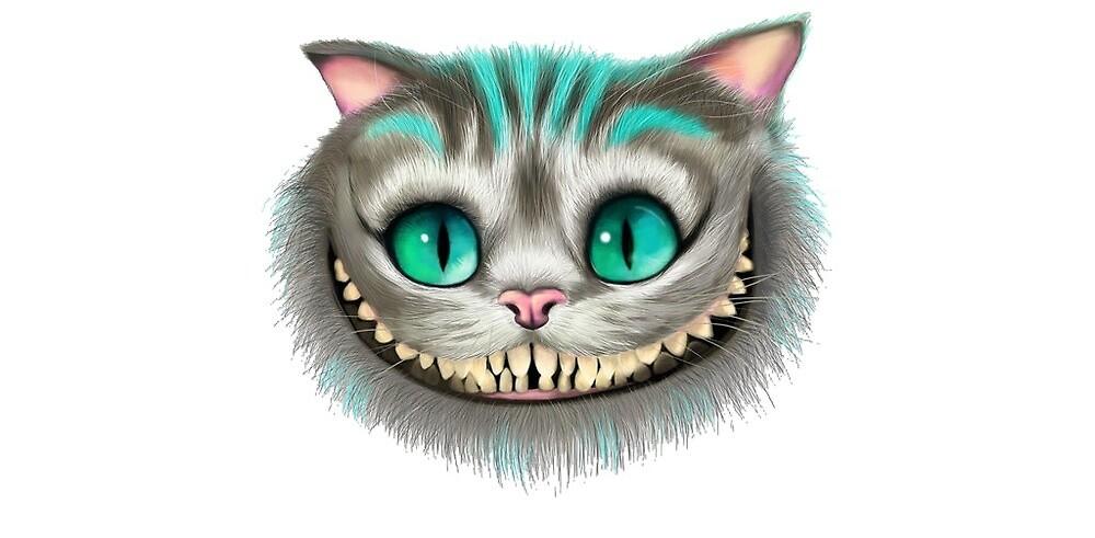 Cheshire cat by -michaelah-