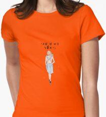 Tender girl Womens Fitted T-Shirt