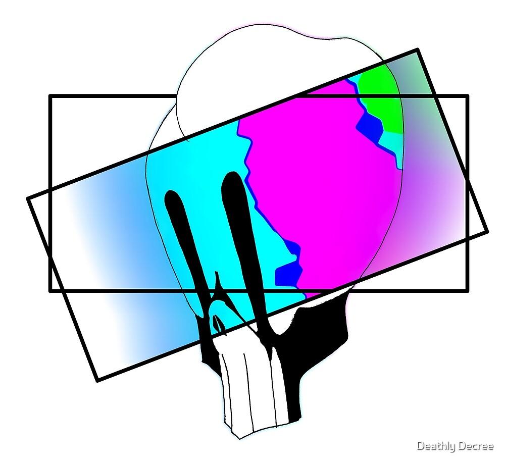 Fluorescent Haze skull by Deathly Decree
