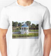 Blue And White Gazebo T-Shirt