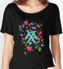 Monsta X Splatter Women's Relaxed Fit T-Shirt