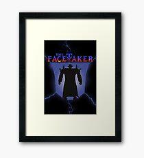 The Facetaker Framed Print