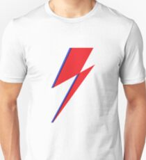 Glam Rock Lightning Bolt Unisex T-Shirt