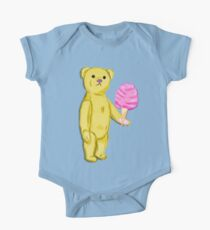 Bear with Cotton Candy One Piece - Short Sleeve