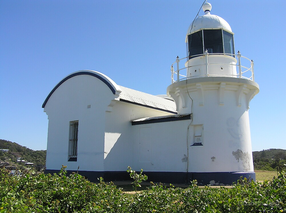 Port Macquarie Lighthouse.Tacking  Point by Elizabeth  Dew