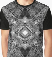 London Abstract Mirrored Architecture - Gherkin  Graphic T-Shirt