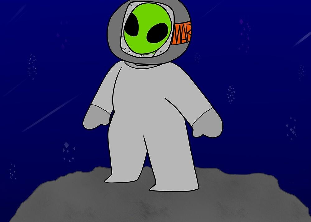 Alien Kid by Moira Jane Iznel