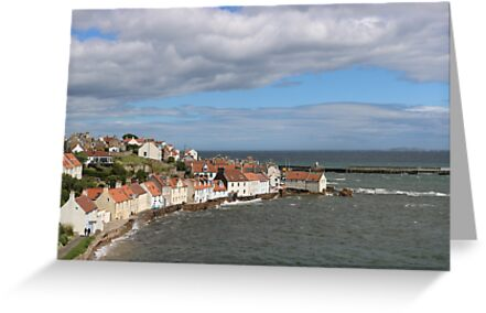 Pittenweem from The West Braes by TheWestBraes