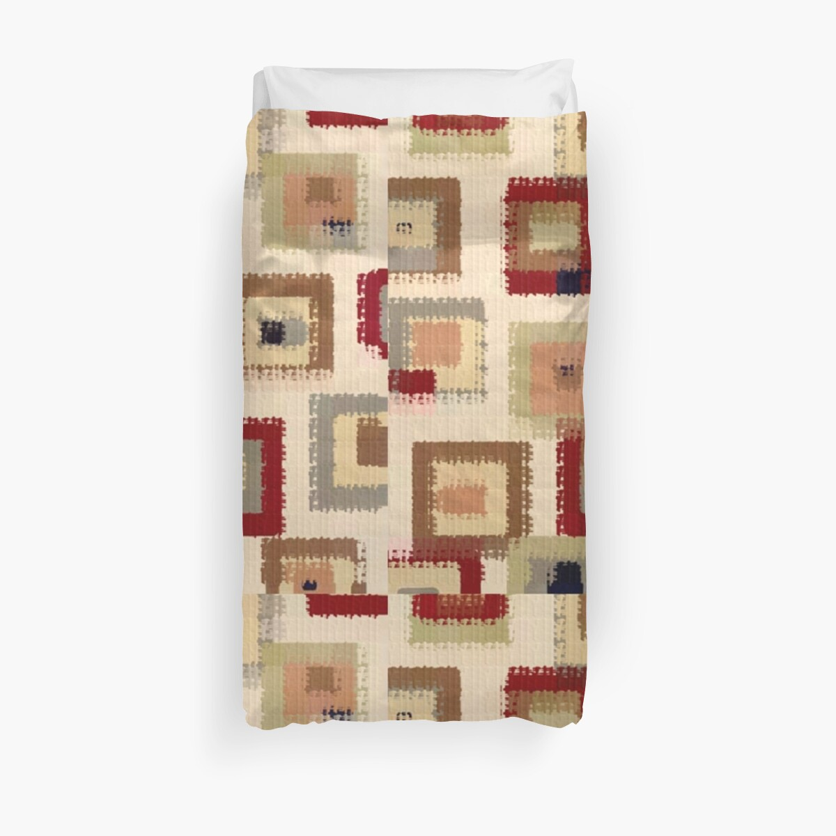 602RB Art, Geometric, Squares Quilt Fabric by Melody Koert