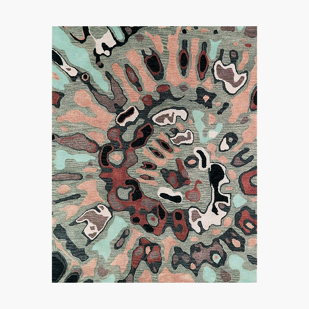 Art, Illustration, Modern, Contemporary, Psychedelic  Photographic Print