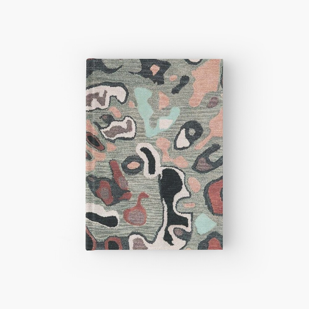 Art, Illustration, Modern, Contemporary, Psychedelic  Hardcover Journal