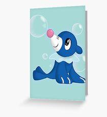 Pokemon - #728 (Popplio) Greeting Card