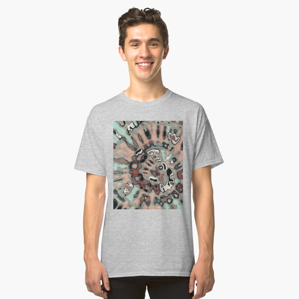 Art, Illustration, Modern, Contemporary, Psychedelic  Classic T-Shirt