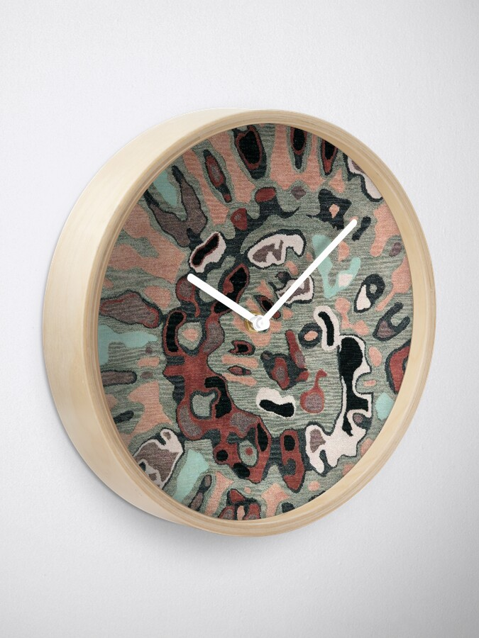 Alternate view of Art, Illustration, Modern, Contemporary, Psychedelic  Clock