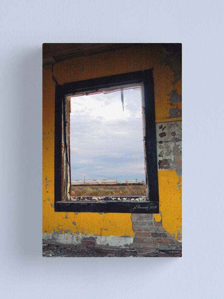 Alternate view of Picture Window Canvas Print