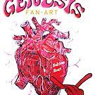 Genesis Fanart Hairless Heart from The Lamb Lies Down on Broadway by Frank Grabowski von Frank Grabowski