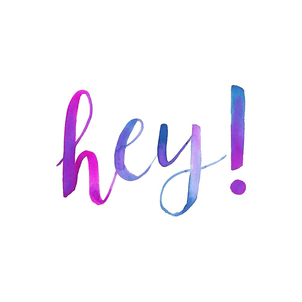 Hey! by JolineCreations