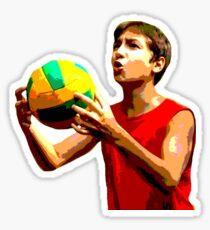 BASKETBALL with NIKITA TRETYAK Sticker