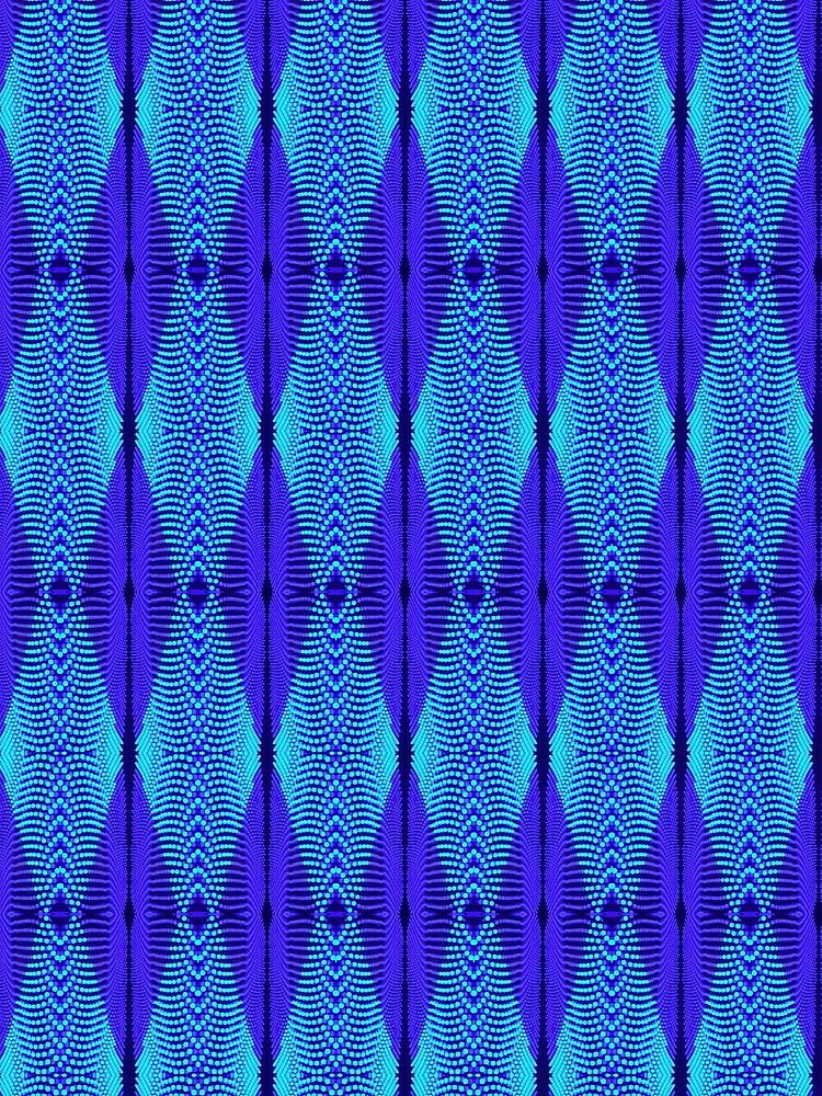 Blue Light Mesh by ATJones