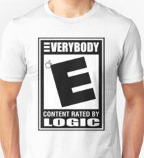 Logic Everybody (Rated E) Unisex T-Shirt