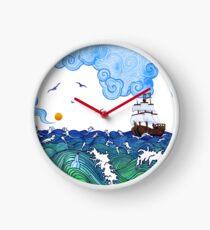 Marine adventure Clock