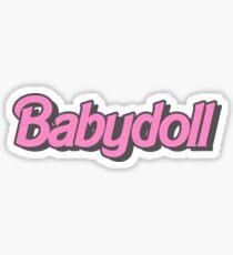 Babydoll Sticker
