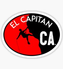 EL CAPITAN YOSEMITE NATIONAL PARK CALIFORNIA CLIMBING MOUNTAINEERING ROCK RAPPELLING Sticker