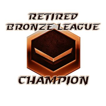 Retired Bronze League Champion by theanimejump