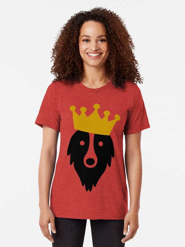 Alternate view of King Grogl™ Outlet Tri-blend T-Shirt