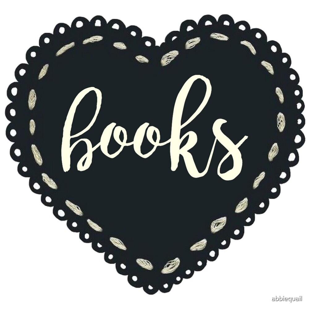 Reader Heart by abbiequail