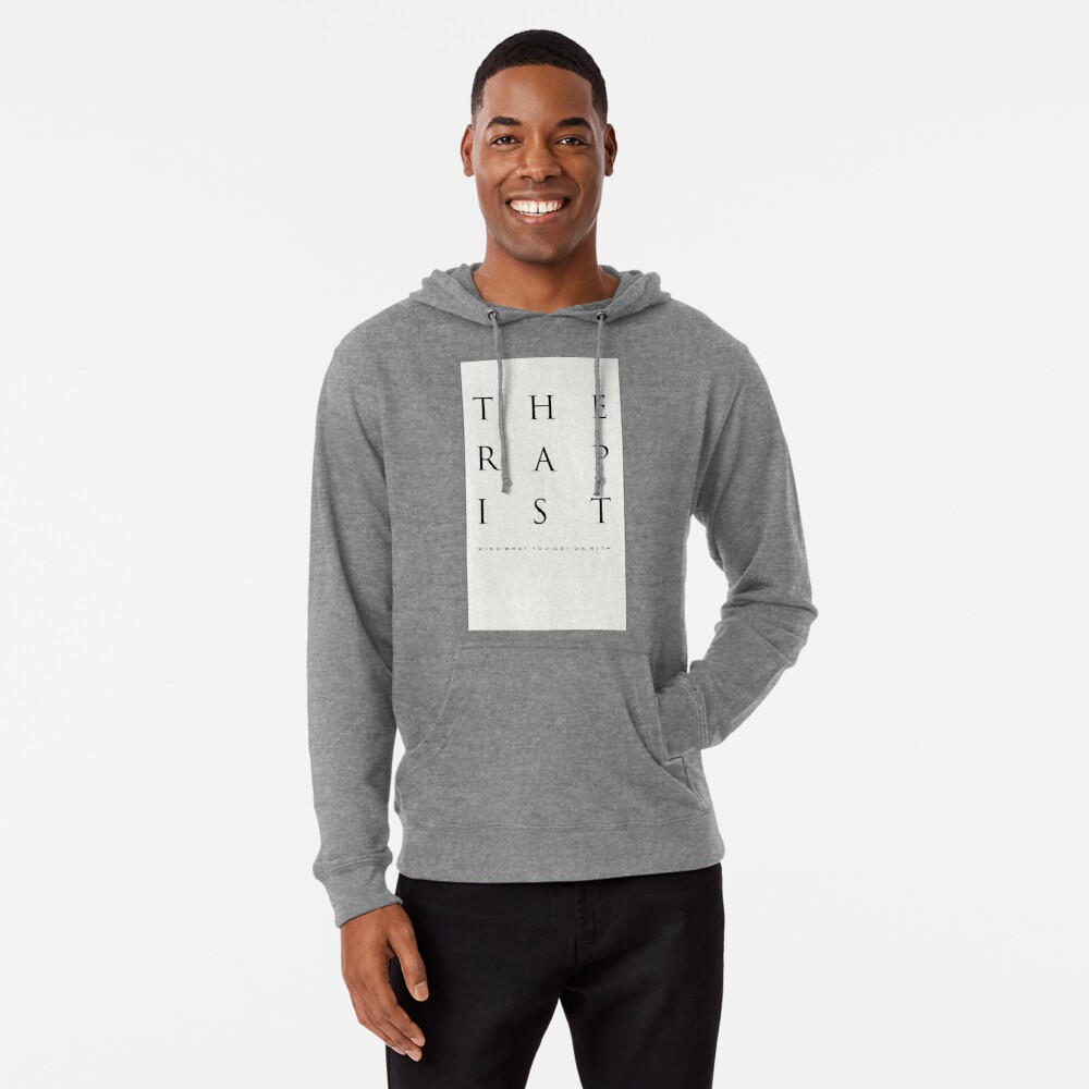 Mind What You Get On With. Lightweight Hoodie