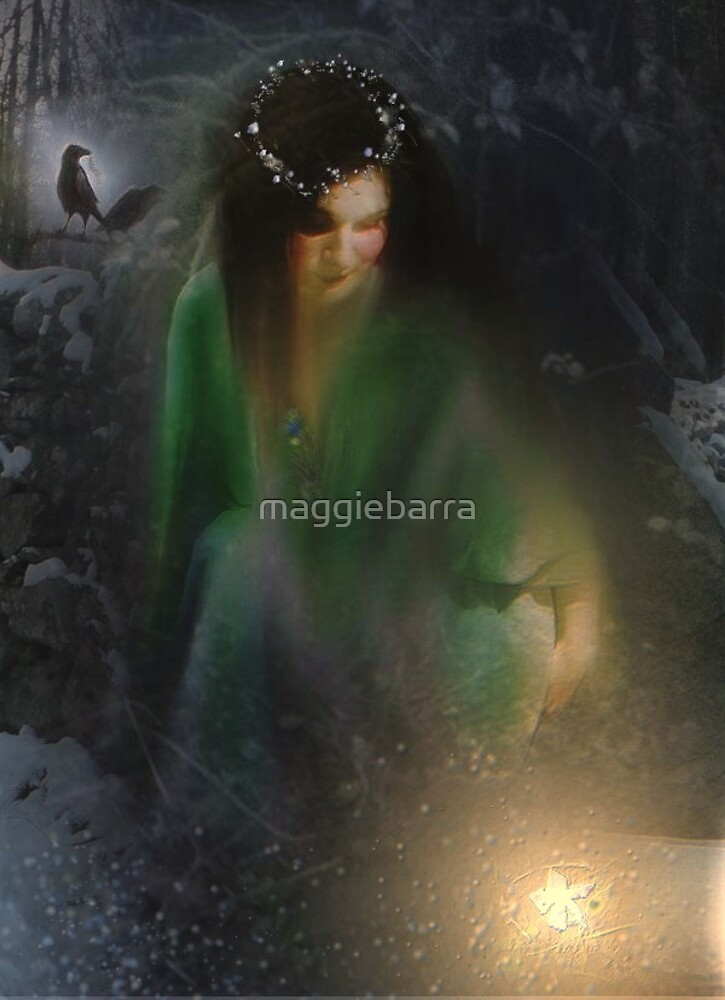 Lady of the Wood by maggiebarra