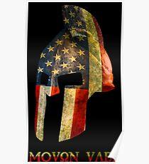 American Spartan - Molon Labe Poster